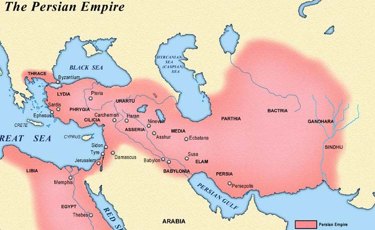 Ancient Greece Map Persian Empire.Ppt The Persian Empire Chapter 4 Section 3 Powerpoint Presentation